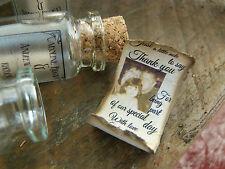 Messaggio in una bottiglia con scorrimento PERSONALIZZATO MATRIMONIO favore oppure salvare la data