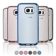 Silikon Hülle für Samsung Galaxy S7  Slim Fit + 2 Schutzfolien