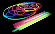 """Coloured 8"""" Glowsticks - Glow Sticks, Bracelets + Necklaces - Parties, Festivals"""