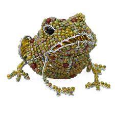 beadworx ~ vert bébé crapaud ~ étang de jardin modèle perlé Animal ~ fabriqué