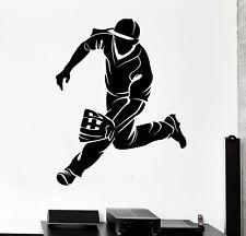 Wall Decal Baseball Player Sports Game Catcher Vinyl Sticker (ed1745)