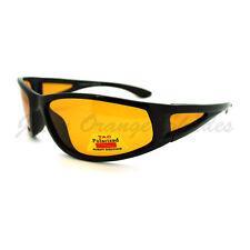 Polarized Lens Mens Wrap Around Sports Sunglasses