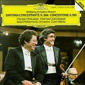 Mozart: Sinfonia Concertante (CD, Nov-1985, DG Deutsche Grammophon (USA))