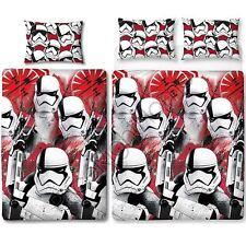 Star Wars The Last Jedi 'Trooper' Single/Double Duvet Cover Reversible Bedding