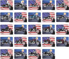 Tapis De Souris Avec Moto motif: Harley Davidson modèle HD biker Partie 2/2