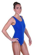Lycra Coton Justaucorps Sans manche Simple Avant - Body De Danse Filles NICOLA)