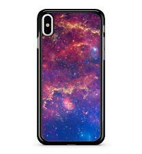 Cyber Espacio estrellada Cosmic Galaxy Starburst Nublado 2d Funda de teléfono