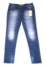 NEW ED HARDY SKINNY JEANS Christian Audigier Women's Pants Dark BLUE 30 32 34 38