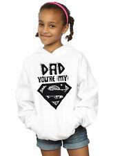 DC Comics Girls Superman Super Dad Hoodie