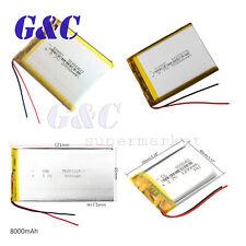 3.7V 2000mAh Charging Battery Li Po Polymer with earphone DVD GPS 103040/7565121