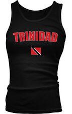 Republic of Trinidad and Tobago Port of Spain Flag Boy Beater Tank Top