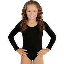 Mädchen GYMNASTIKANZUG Kinder  Ballettanzug Trikot Turnanzug Ballettbody Tanzen