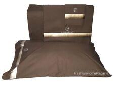 Completo di lenzuola per letto matrimoniale con bordo in raso Nazareno Gabrielli
