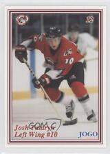 1999 Jogo Ottawa 67's #12 Josh Tataryn (OHL) Newmarket Royals Rookie Hockey Card