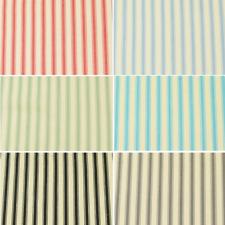 8mm Fashion Ticking Stripe Lines 100% Cotton Upholstery Curtain Yarn Fabric