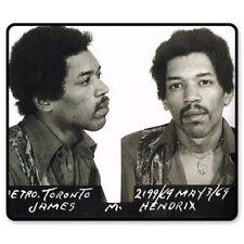 Jimi Hendrix Arrested Police Mugshot 1969 Photo Car Vinyl Sticker - SELECT SIZE