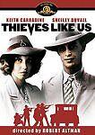 Robert Altman THIEVES LIKE US rare dvd 1930s era Mississippi KEITH CARRADINE '74