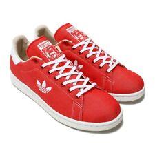 lowest price 179af 6980d Adidas Originals Stan Entrenador Zapatos Tenis Rojo para Hombre Smith  B37894 Nuevo con etiquetas