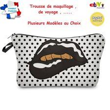 Trousse de Maquillage - Trousse de Toilette Voyage Bagage  - 11 MODELES AU CHOIX