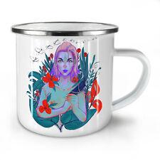 Forest Fairy Flowers NEW Enamel Tea Mug 10 oz | Wellcoda