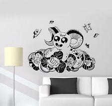 Wall Vinyl Sticker Decal Tale Fantasy Monster Butterflies Child Kids (ed468)