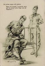 """#R. PAPARELLA: UMORISMO DI VITA MILITARE 1937-38 """"LA PRIMA TAPPA ALLA GLORIA.."""""""