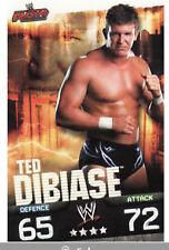 WWE Slam Attax Evolution - Ted DiBiase Raw Card