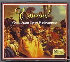 READERS DIGEST -ENCORE! GREAT STARS/PERFORMANCES - 3 CD