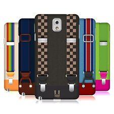 HEAD CASE DESIGNS SUSPENDERS SET 2 HARD BACK CASE FOR SAMSUNG PHONES 2
