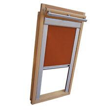 Sichtschutzrollo Schiene Dachfensterrollo für Velux GGL/GPL/GHL - terracotta