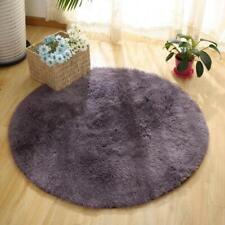 1 Pcs Solid color Round Carpet Computer Chair Carpets Dome of mattress floor mat