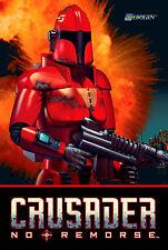 Crusader: No Remorse Retro Game Poster |4 Sizes| PC Dos Sega Saturn Playstation