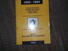1994 CHRYSLER CONCORDE BODY DIAGNOSTIC PROCEDURES Service Shop Repair Manual OEM