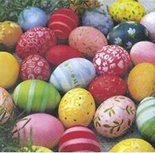 """Oster-Serviette """"Colour Eggs"""" - 3-lagig - 20 Stück/Paket - Abmessung: 25 x 25 cm"""