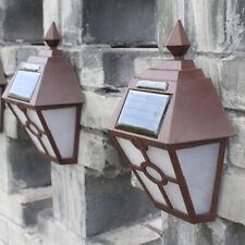 Retro Solar Lights Waterproof Wall Lamps for Front Door Backyard Garage Outside