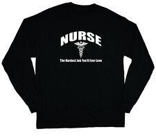long sleeve t-shirt for men nurse nursing gift for nurses tee shirt