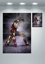 Iron Man Marvel Super Hero Large Wall Art poster Print