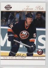 2003-04 Pacific Supreme Red #61 Jason Blake New York Islanders Hockey Card