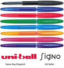 UNIBALL UM170 SIGNO GELSTICK GEL PEN -Black Blue Red Orange Green Pink Violet