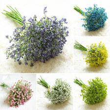 Artificial Fake Gypsophila Flowers Bouquet Realistic Floral Home Wedding Decor