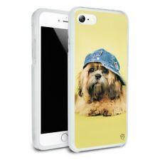 Shih Tzu Dog Baseball Cap Hat Slim Hybrid Case Fit iPhone 8, 8 Plus, X
