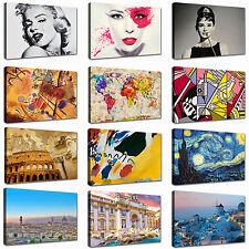 Quadro moderno Cm 100x70 Quadri Moderni Stampa su tela Canvas XXL Astratti Casa