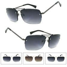 df9bd385c6 1 or 2 Pair Retro Large Semi Rimless (NOT BIFOCAL) Full Lens Reading  Sunglasses