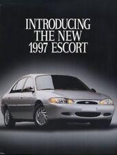 1997 Ford Escort Intro CDN Sales Brochure Book