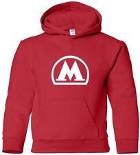 MOSCOW METRO Hooded Sweatshirt RUSSIAN Subway Hoodie COOL train HOODY