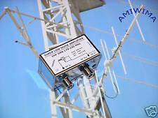 New listing Lna Vhf Dab Radio 170 to 240 Mhz super low noise amplifiier Nf 0.4 dB Gain 14 dB