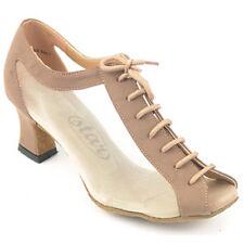 "164304 Beige1.8""SC Very Fine Quality Latin Rhythm Salsa Dance Shoes (sz4.5 -10)"