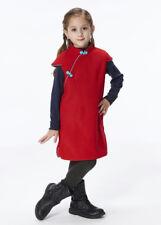 100% Fait Main Robe d'Hiver Fille Qipao Cheongsam en Laine Mode Enfant #204