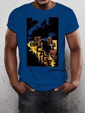 LUKE CAGE URBANO BLU UNISEX MARVEL UFFICIALE CON LICENZA T-shirt CARL LUCAS