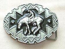 Cowboy Mustang Gürtelschnalle Ranger Adler Pferd Rodeo Metall Bullriding Buckle
